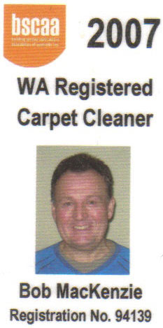 WA Registered Carpet Cleaners